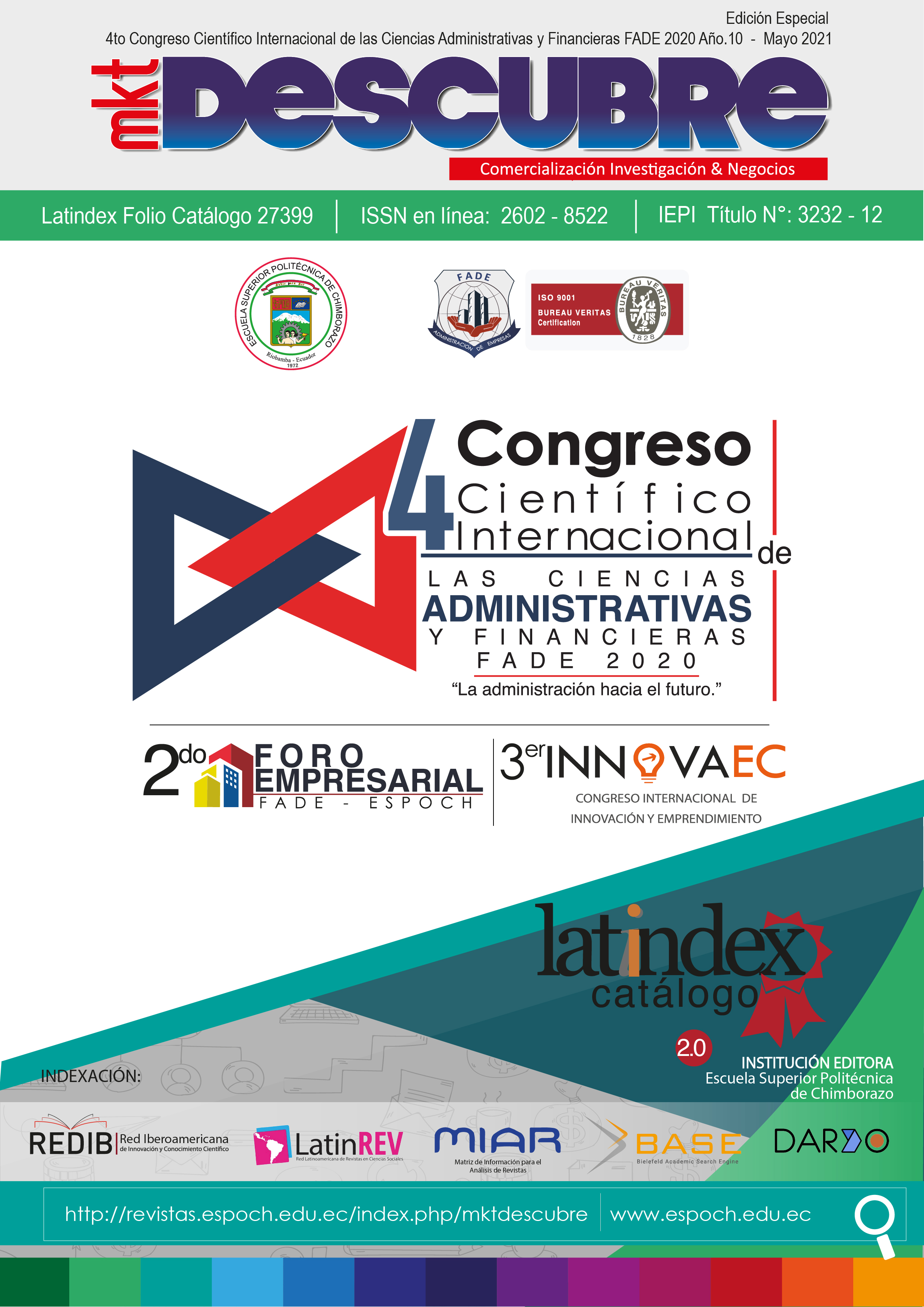 Memories 4th International Scientific Congress of Administrative and Financial Sciences FADE 2020